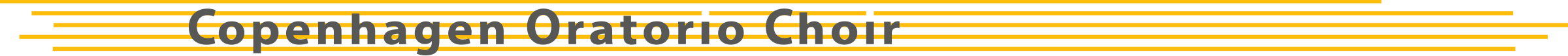 Copenhagen Oratorio Choir Logo